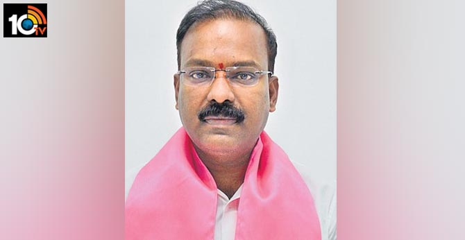 Peddapally MP Borlakunta Venkatesh not active in party activities after he became MP