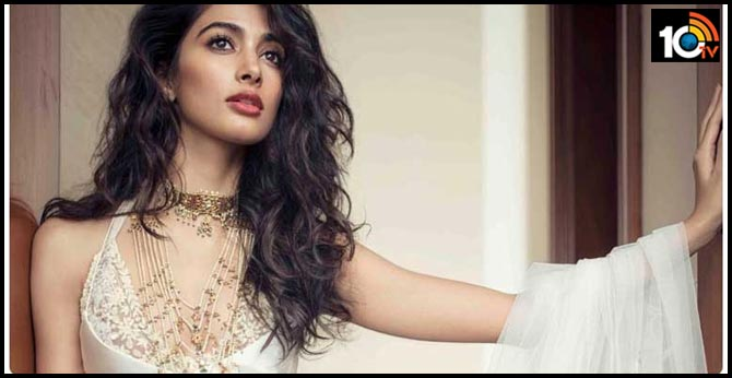 Pooja Hegde Turns to Golden Leg for Tollywood
