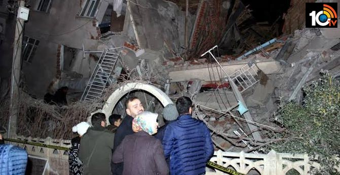 Powerful earthquake hits Turkey, killing 18 and sending panicked residents onto the streets