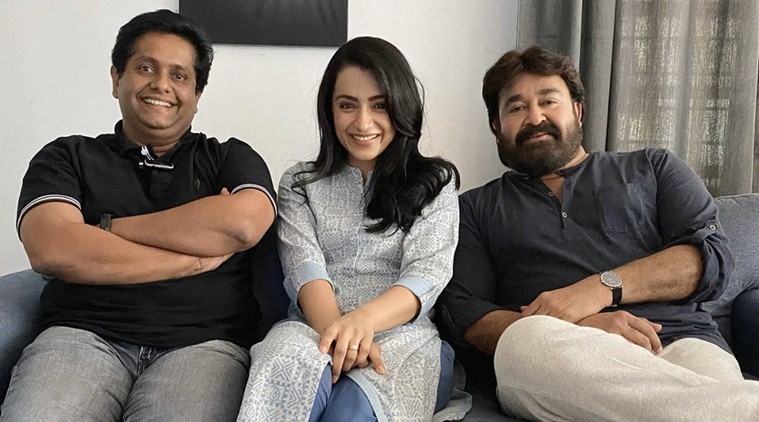 Trisha to pair up with Mohanlal