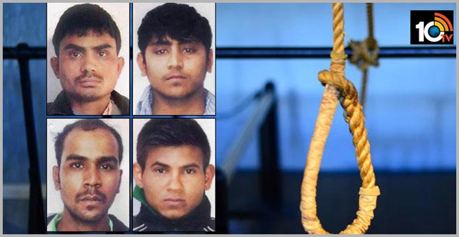 Relief for nirbhaya's Convicts