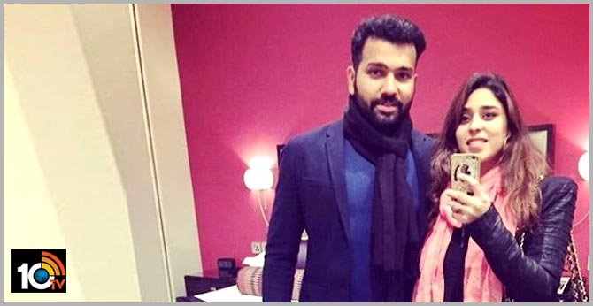 Rohit Sharma Showers Love on Wife Ritika Sajdeh  Calls Her 'My All-Rounder'