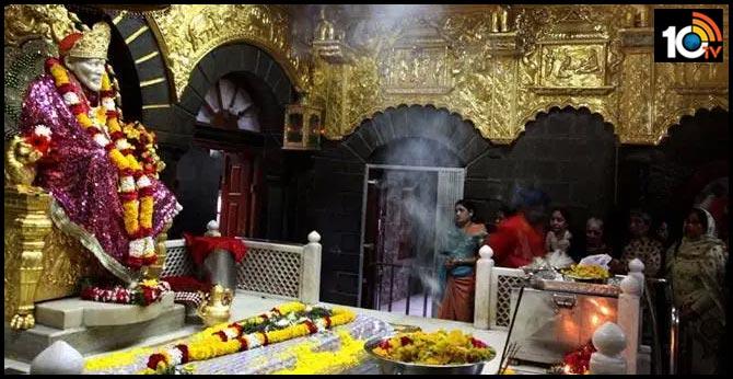 Shirdi Bandh: The Sai Baba Temple is open