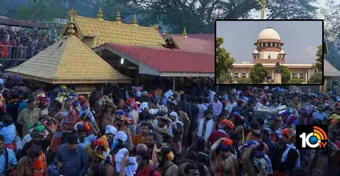 Supreme Court's 9-judge bench to hear Sabarimala case from Januyary 13th