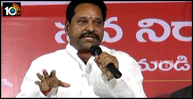 Tirupati should be made capital of ap says Former minister Amarnath Reddy