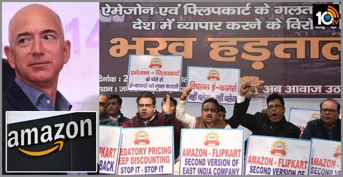 Jeff Bezos's India Visit: Trade Body Representing 70 Million Retailers Plans Widespread Protest