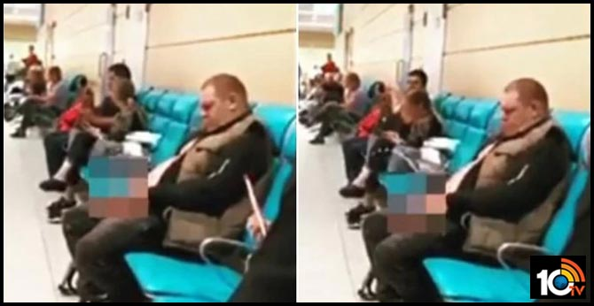 Video of man urinating in airport's waiting area goes viral