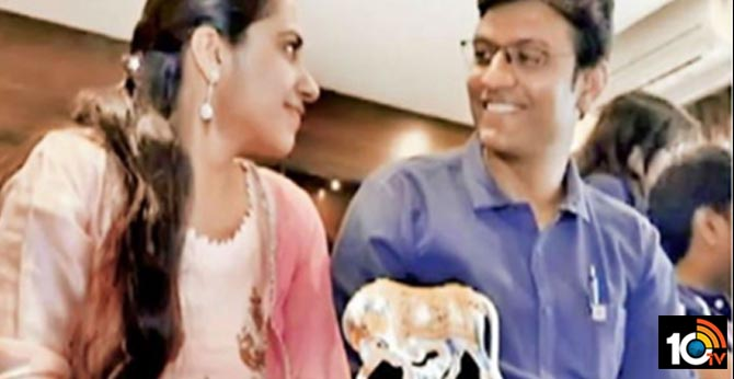 Wedding cards in Sanskrit, couple to marry in vedic custom with witness of cow