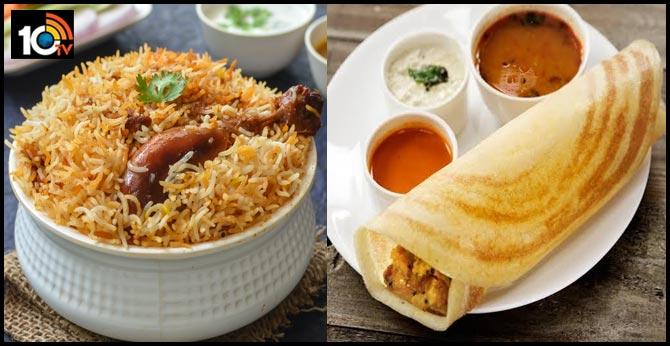 'Why not masala dosa and biryani?' ask tweeple