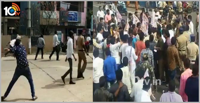 YCP Leaders Beat Janasena Activists In East Godavari