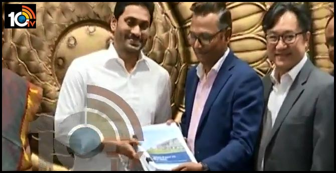 bcg gives report to cm jagan