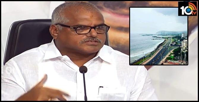 botsa satya narayana sensational comments on visakha
