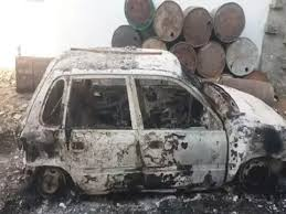 The old man burned alive in tandur