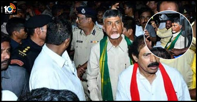 chandrababu demands for elections
