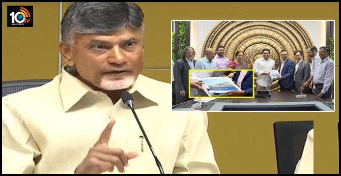 chandrababu fires on bcg committee report