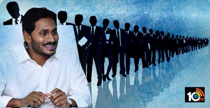 cm jagan review on jobs calendar