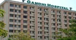 corona hit man using public toilet in gandhi hospital