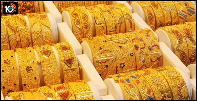 gold price breaches 41000 mark