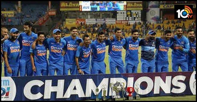 india won series on australia