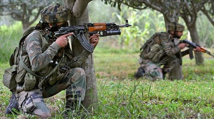 An Encounter in Jammu and Kashmir : top commander Qari Yasir of Jaish-e-Mohammad and Two terrorists killed