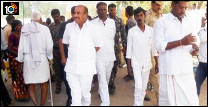 jc diwakar reddy release from police station