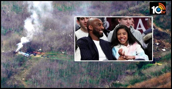 kobe bryant daughter Among 9 Died In Helicopter Crash