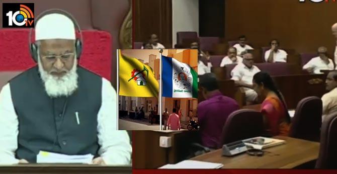 legislative council deputy chairman allots time for parties