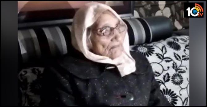 rajasthan..Sikar: 97 year old Vidya Devi won panchayat polls, elected Sarpanch of Puranabas village in Neem Ka Thana sub division