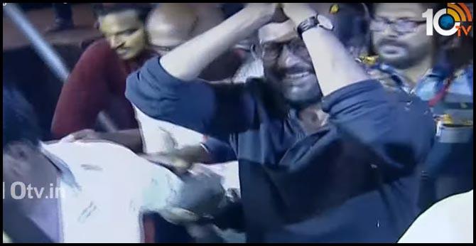 ram lakshman reaction about darbar fight scenes