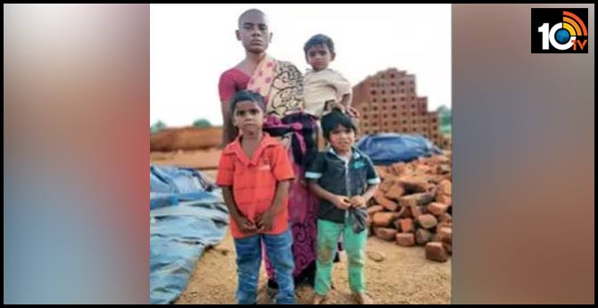 salem woman sells off hair for rs 150 to feed her three children