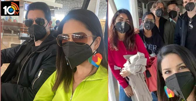 sunny leone put a mask on when fan asked her for a selfie coronavirus