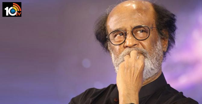 super star rajinikanth injured in shooting