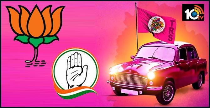 Telangana Municipal Elections TRS Clean Sweep
