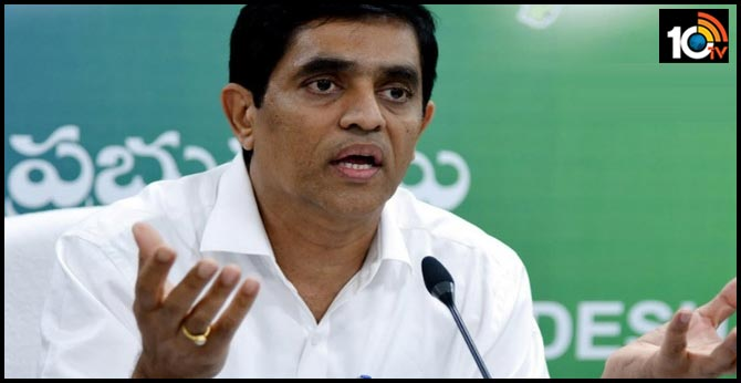 ysrcp leaders angry on minister bugganna