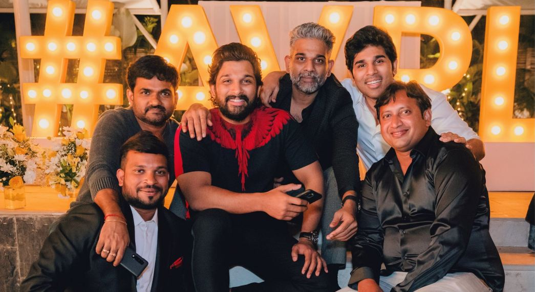 Stylish Star Allu Arjun Hosted a Grand Party  to Celebrate the Stupendous Success of Ala Vaikunthapurramuloo
