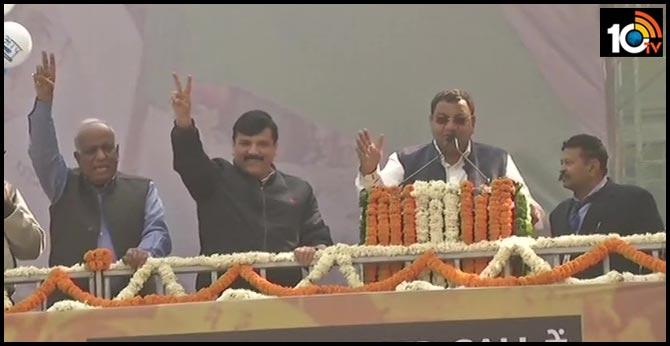Aam Aadmi Party Leader Sanjay Singh says 'Aaj Hindustan jeet gaya..