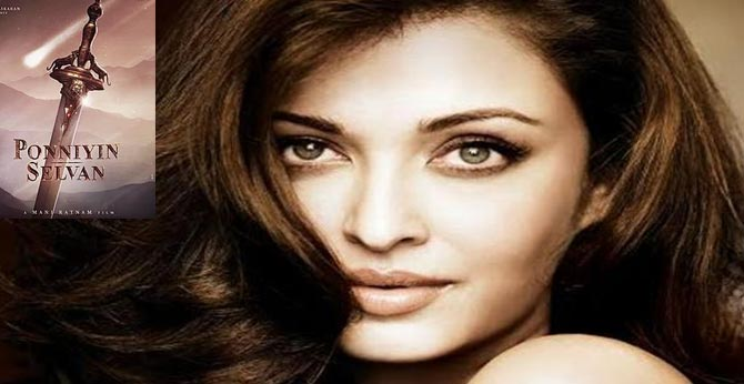 Aishwarya Rai plays a negative character in the Maniratna film