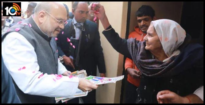 Amit Shah Doorsteps Delhi, 240 BJP MPs Do All-Nighters For Saturday Polls