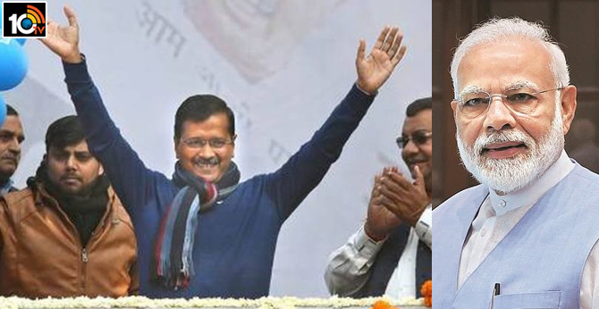 Arvind Kejriwal Invites PM Modi To His Swearing-In On Sunday