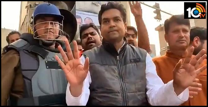 'Bas teen din hain aapke paas': BJP's Kapil Mishra issues ultimatum to Delhi Police over anti-CAA protests
