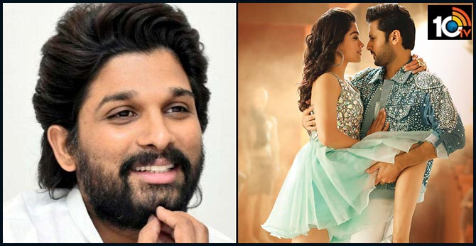 Stylish Star Allu Arjun Wishes to Bheeshma Team