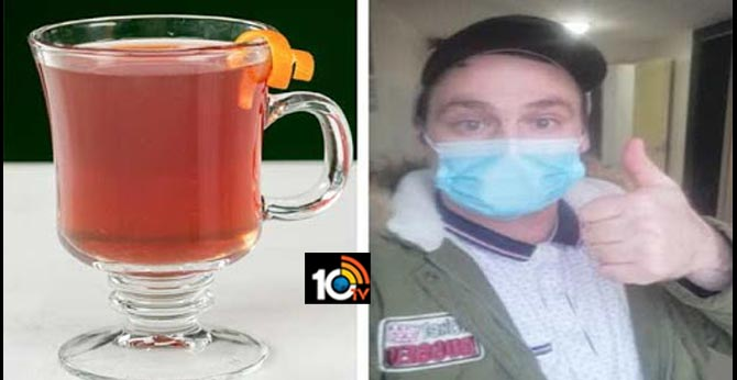 British man with coronavirus claims he overcame illness with 'hot whiskey and honey'