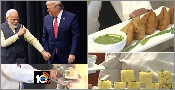 Broccoli Samosa, Khaman, Multi-Grain Rotis On Trumps' Menu In Ahmedabad