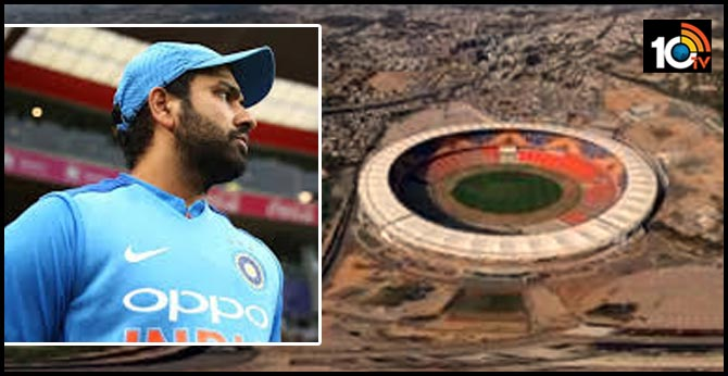 Can't wait to play at Motera Stadium, tweets Rohit Sharma