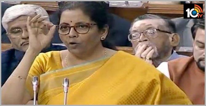 Central Budget 2020-21 Central Minister Nirmala sitharaman
