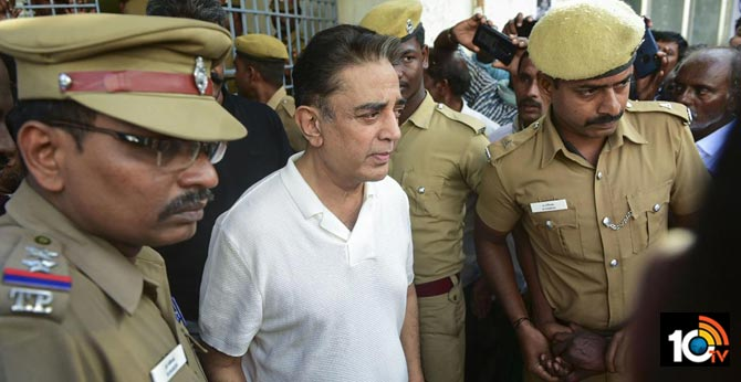 Chennai Cops Issue Notice To Kamal Haasan Over Accident
