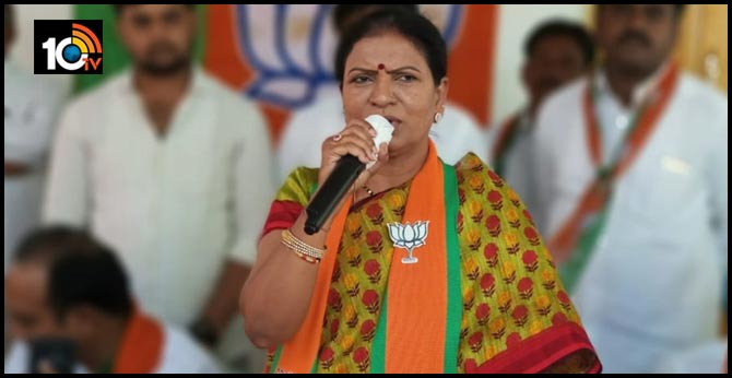 DK Aruna trying to convince high command for Telangana BJP president post
