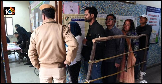 Delhi Assembly Election Polling Continuing lame