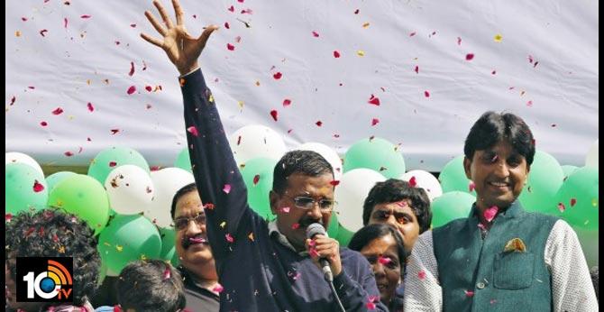 Delhi Exit Polls Results AAP Victory