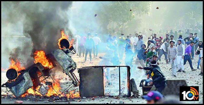 Delhi Riots People Abstinence should be practiced